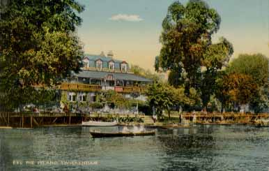 Eel Pie Hotel in the 1930s