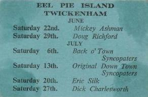 Eel Pie Island (June/July events 1963)