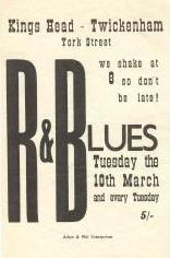 Kings Head, Richmond (March 1964)